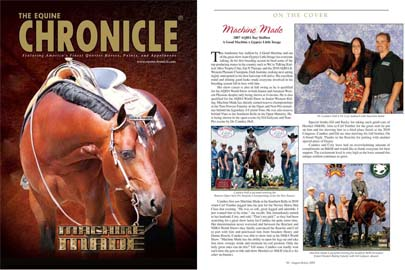 August 2011 Equine Chronicle