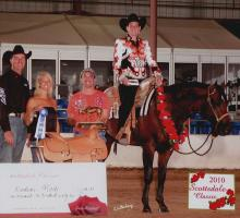 2010 SCOTTSDALE CLASSIC ~ 3 yr old Non Pro Winner with Dr. Candice Hall